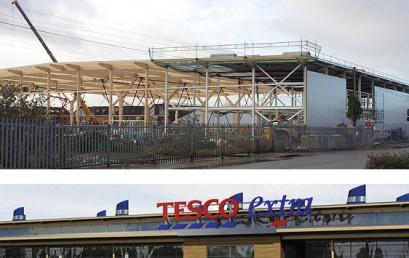 New Tesco Extra, Newmarket